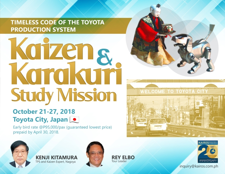 Kaizen & Karakuri Study Mission flyer Oct2018 final Feb6.2018